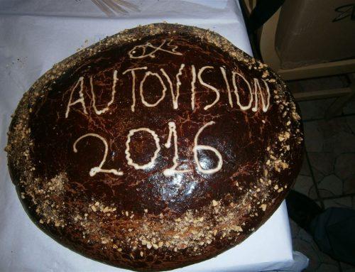 Κοπή πίττας για την οικογένεια της AUTOVISION